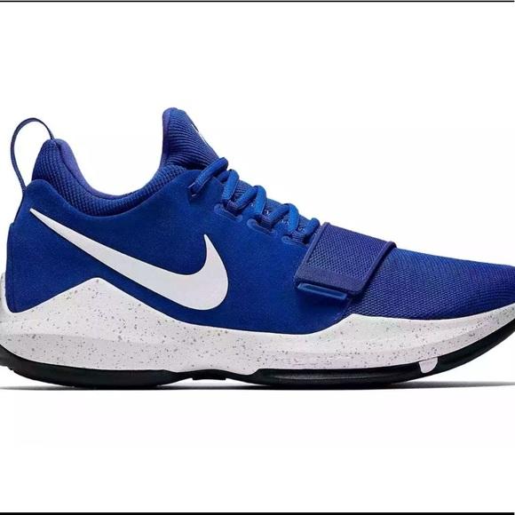 029600e002f Nike PG1 Royal Blue Sizes 11.5 13.5 Shoes